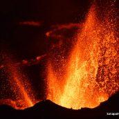 Guidage sur les éruptions du Volcan à la Réunion