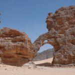 sable érosion arche