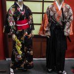 Geisha et samouraï
