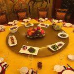 Repas d'affaire en Chine