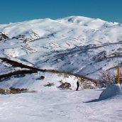 Skier en pleines vacances d'été en Australie
