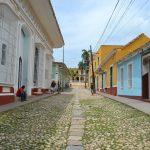 les rues pavées Cuba