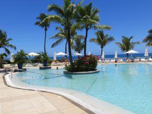 Belle place à l'île maurice