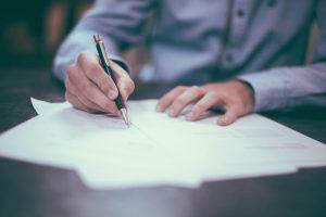 rédaction d'une lettre de reclamation