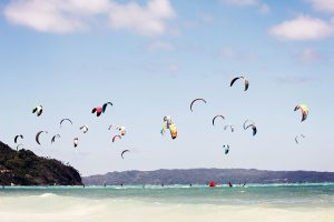kitesurfing à Boracay