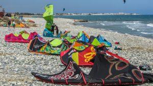 Equipement pour faire du kitesurf
