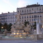 Toulon place de la liberté-fontaine