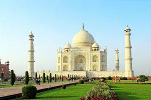 Taj mahal en Inde