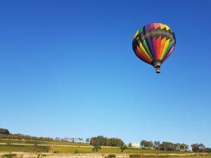 montgolfière à Lyon