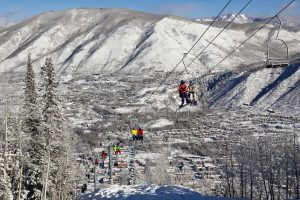 Montagne d'Aspen au Colorado