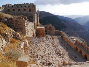 Forteresse de Kerak site de renom en Jordanie