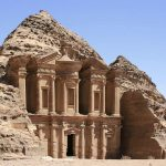 La cité de Petra en Jordanie