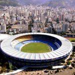 Stade Maracanã au Brésil