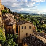 Toscane en italie ville paysage