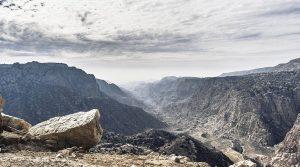 Vallée de Dana site de renom en Jordanie