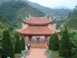 Les Vestiges ATK Dinh Hoa au Vietnam