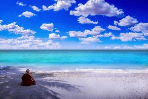 Destination de voyage sur la plage