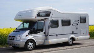 maison mobile hymer ou camping car de vacances