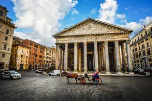 La ville de Rome en Italie le Panthéon