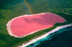 Le lac Rose au Sénégal