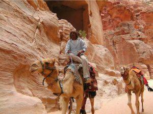 Randonnée à Pétra dans la cité des Nabatéens en Jordanie