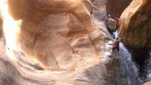 Wadi Mujib en Jordanie