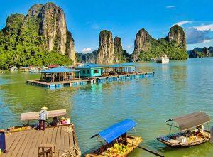 Bay d'halong au vietnam