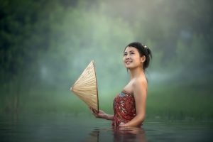 Belle photo d'une vietnamienne