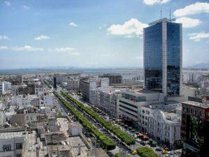 la capitale de la Tunisie