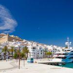 En plein ville d'Ibiza