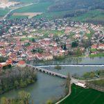 Scey sur Saône en France