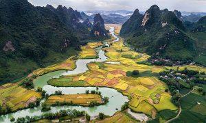 cao bang au vietnam