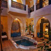 Profiter des joies du Riad non loin d'un hôtel à Marrakech