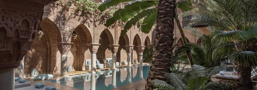 Piscine de la Sultana à Marrakech