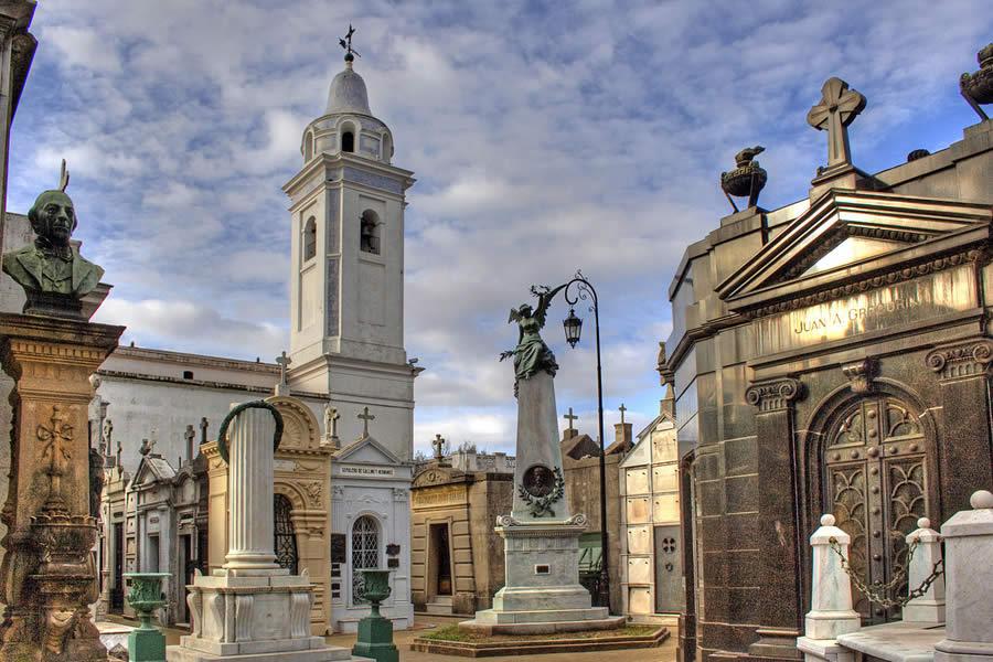 Le cimetière de Recoleta