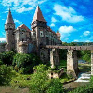 Vacances en Roumanie, le château Eisenmarkt Transylvanie