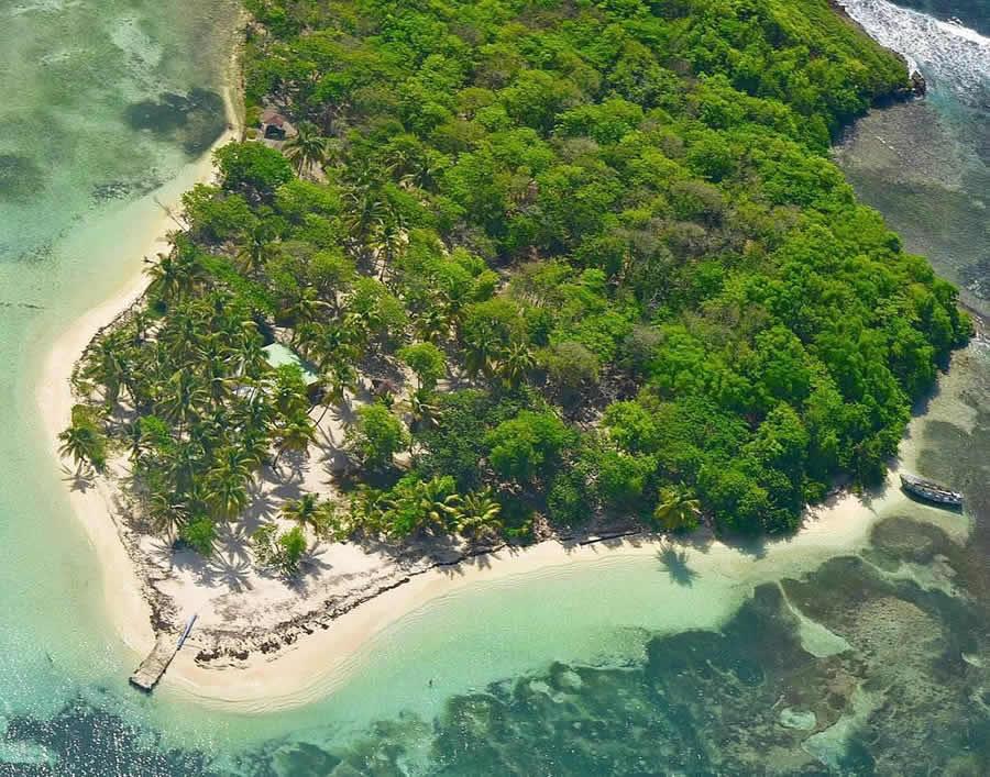 L'îlet du Gosier en Guadeloupe