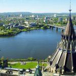 La ville d'Ottawa au Canada
