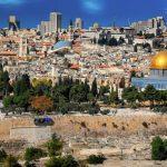 La ville de Jérusalem en Israel