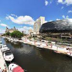Le canal du rideau à Ottawa Ontario au Canada
