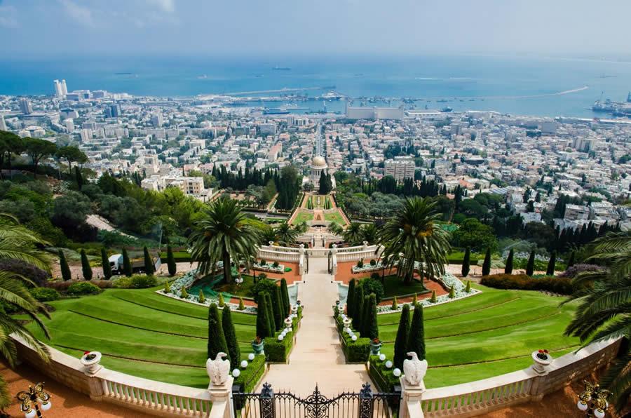 Les terrasses baha'ies en Israel