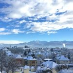 Cold Klagenfurt Wintry Homes Winter Snowy City
