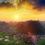 Paysage magnifique du Vietnam