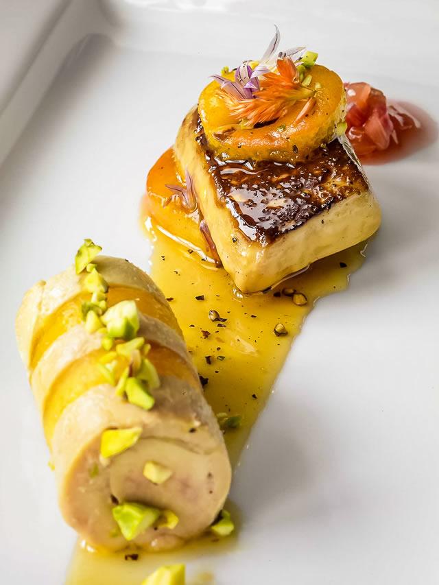 Foie gras à la française
