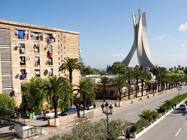 Le Memorial du Martyr en Alger