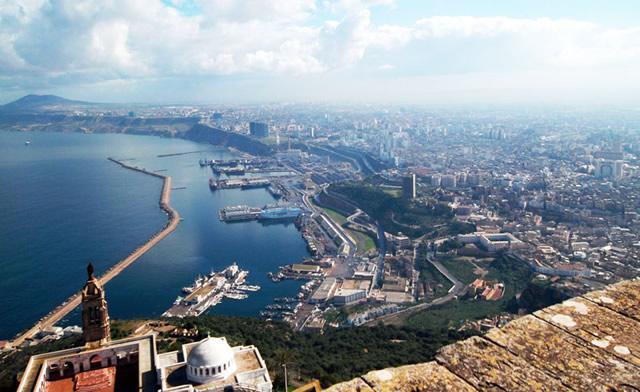 Ville d'Oran en Algérie
