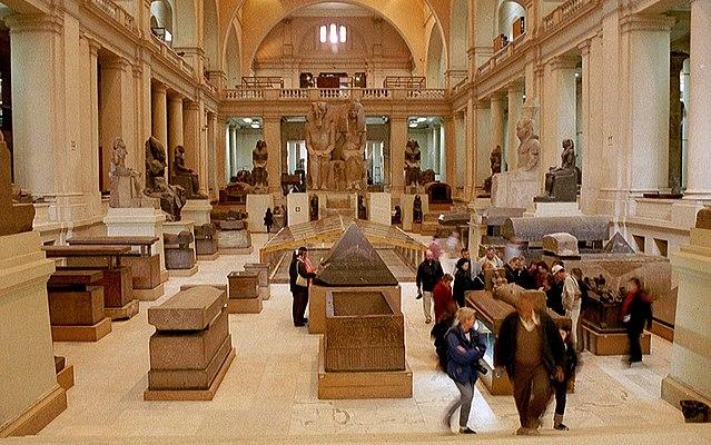 Visite dans le musée égyptien du Caire