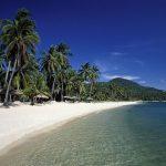 Chaweng Beach à Kho Samui en Thailande