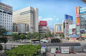 La ville de Nagano au Japon