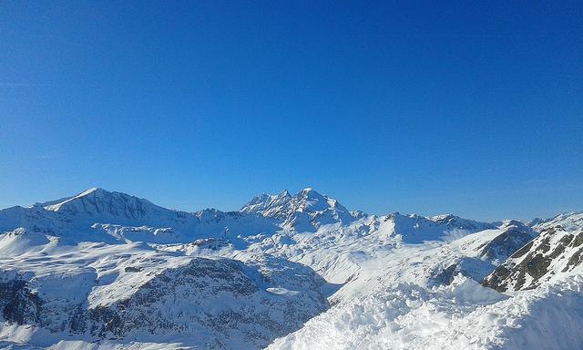 Le glacier de la Grande Motte à Tignes